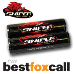 SNIPER HOG 18650 3500mAh Battery – SINGLE