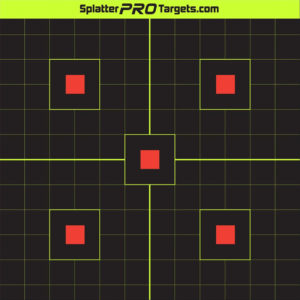 SplatterPro 12″ Sight In Targets