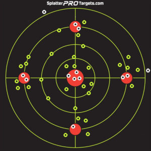 SplatterPro 12″ Bullseye Targets