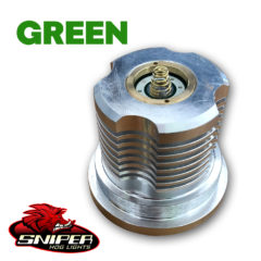 SniperHog Lights Coyote Cannon- GREEN LED PILL