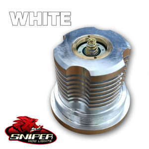 SniperHog Lights Coyote Cannon – WHITE LED PILL