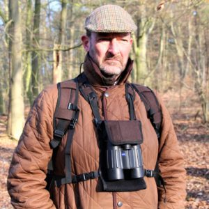 Loden Binocular Harness by Mjoelner Hunting