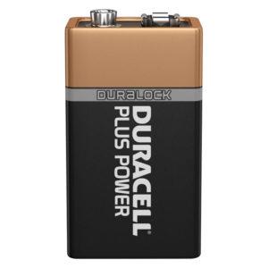 Duracell Plus Power 9V PP3 6LR61 Battery | 1 Pack