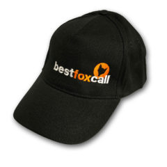 Black BestFoxCall Baseball Cap