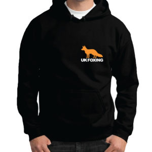 UK FOXING Hoodie – ORANGE/WHITE